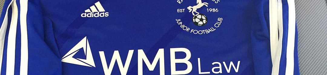 WMB Law proud to sponsor junior football