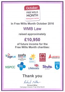 WMB Solicitors - Free Wills Month