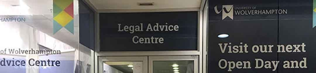 University of Wolverhampton's legal advice clinic